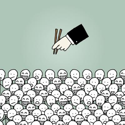 """自分でビジネスを始める人へ。""""群れる人""""になると戦いに負けます。"""