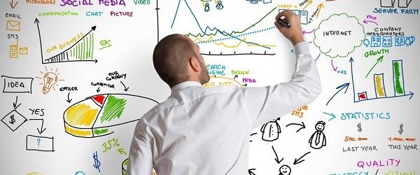 起業エンジンを見つけるために分析する人
